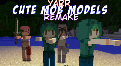 Minecraft - About Yarr Cute Mob Models - Remake