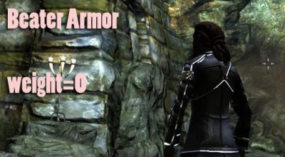 Skyrim — Beater Armor is Kirito