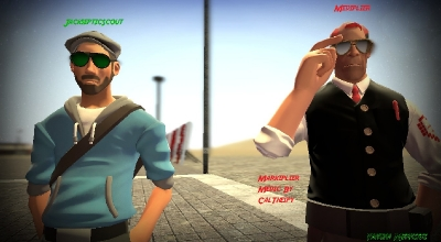 Garrys Mod — Jacksepticeye and Markiplier