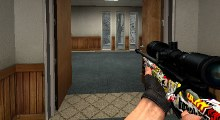 Counter Strike:Source — Stricker Bomb Awp [HD]