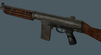Fallout 3 - US Assault Rifle Retexture