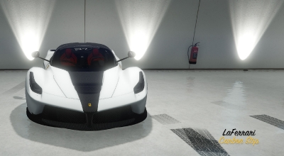 GTA 5 —  Скин Ferrari Carbon Stripe