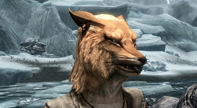 Skyrim — Раса Лис (Playable Fox Race)