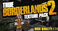 Minecraft 1.7.x - HD текстуры True Borderlands 2