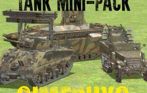 [simfphys] WW2 American Tank Mini-Pack