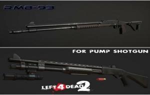 Left 4 Dead 2 — новые модели оружия – РМБ-93, Winchester 1200 (помповые дробовики)