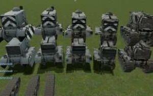 Роботы и Танки из TEAM FORTESS 2