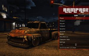 GTA 5 — Rampage Трейнер   GTA 5 моды
