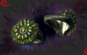 SSE Кольцо Клоранти из Dark Souls | Skyrim Special Edition моды