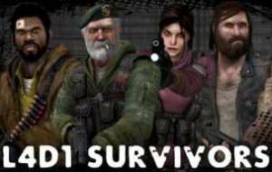 Left 4 Dead 2 — The Original L4D Survivors | Left 4 Dead 2 моды