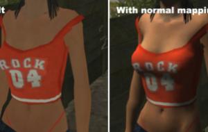 Normal Mapping (улучшение текстур скинов)   GTA San Andreas моды