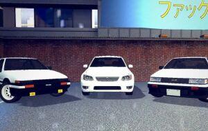 [Simfphys] Пак 3 автомобилей от Toyota