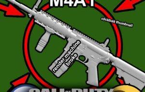 [TFA][AT] Modern Warfare (2) M4A1 | Garrys mod моды