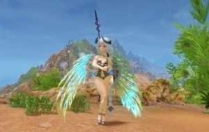 Крылья из павлиньих перьев | Skyrim моды