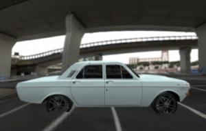 CrSk Autos — GAZ-24 Volga (wrong scale)