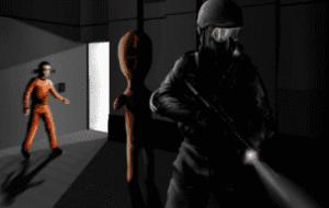 Главный герой игры SCP Containment Breach
