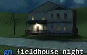 Карта gm fieldhouse night | Garrys mod моды
