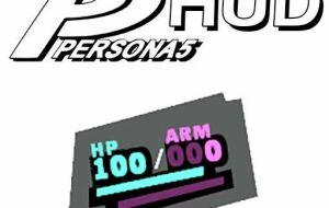 Persona 5 Stylized HUD