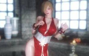 Ципао Чунь Ли из Street Fighter | Skyrim моды