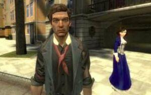 Букер и Элизабет из BioShock: Infinite