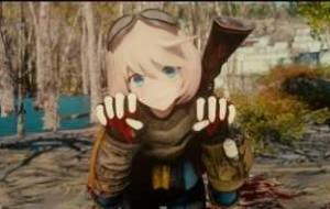 Аниме раса Нанако-тян | Fallout 4 моды