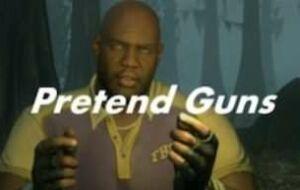 Left 4 Dead 2 — Pretend Guns | Left 4 Dead 2 моды