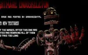 FNaF 4 — Nightmare Endoskeleton