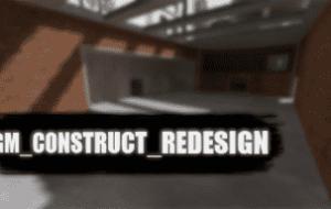 Garry's mod — Карта gm_construct_redesign [Sandbox] | Garrys mod моды
