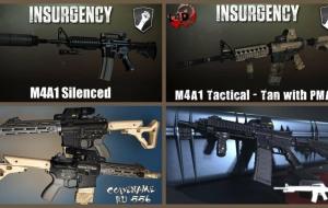 Left 4 Dead 2 — новые модели оружия — M4A1, CA-415, M4V5, Norinco QBZ-95, Ruger SR-556, H&K 33