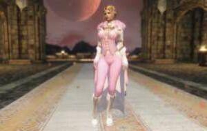 Skyrim — Бело-Розовая одежда | Skyrim моды