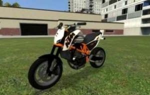 Garry's mod — Байк KTM Duke 690 | Garrys mod моды