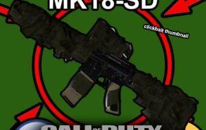 [TFA][AT] Modern Warfare MK18-SD | Garrys mod моды