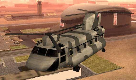 Транспорт для GTA:SA