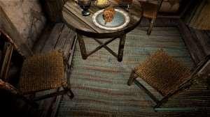 Skyrim - новые текстуры для столов/стульев и т.п.