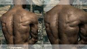 Skyrim - детализированные тела