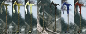 Эльфийское оружие - большой пак текстур