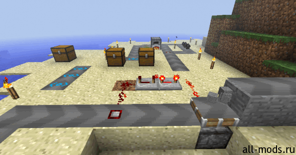 Conveyor Belts - конвейер - мод для Minecraft