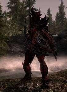 Skyrim - текстуры для Даэдра брони (Daedric Armor)