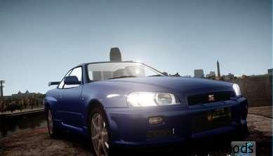 GTA IV - 2002 Nissan Skyline GT-R R34 1
