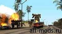 GTA San Andreas – Трансформеры мод