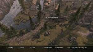Skyrim - карта в полном 3D!