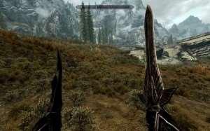 Skyrim - новые текстуры оружия и доспехов