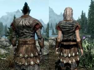 Skyrim - ретекстур Imperial Chainmail Armor