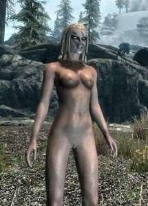Skyrim - мод голые девушки