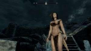 Skyrim - сексуальная броня