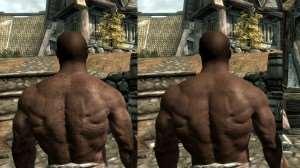 Помытые мужчины - новый скин для Skyrim