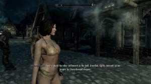 Новые текстуры женских тел для Skyrim