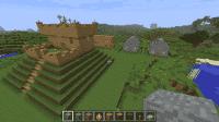 Minecraft 1.2.5 с установленным модом Millenaire 2.5.9 | Minecraft моды