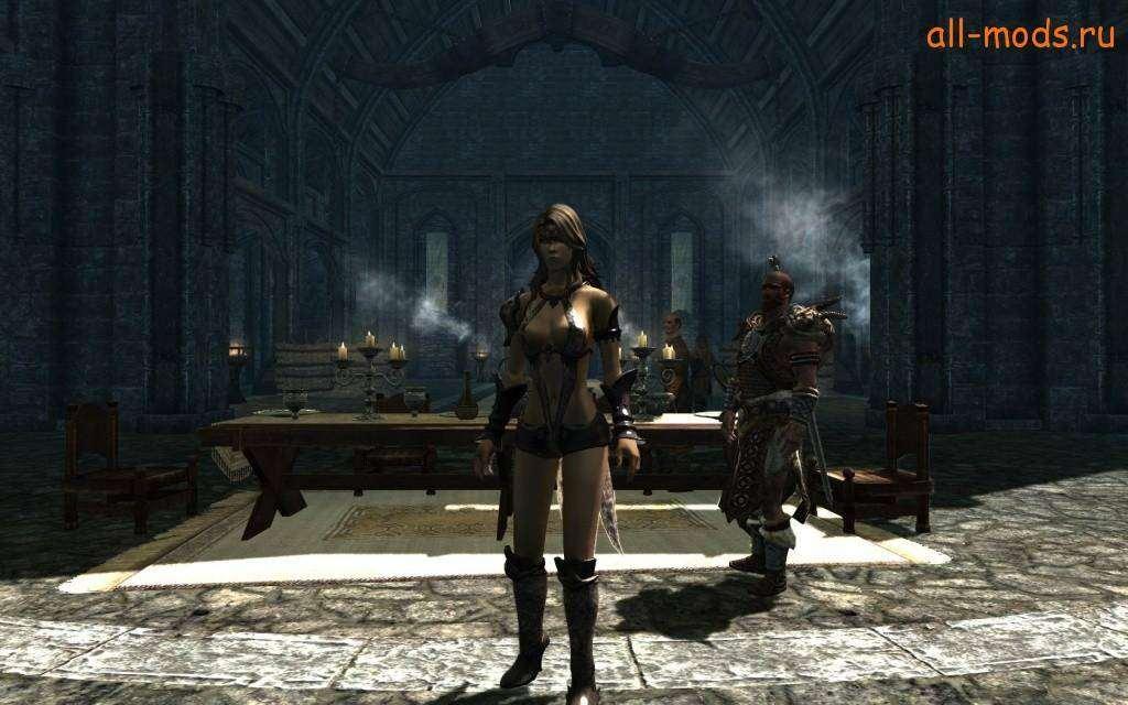 Сексуальня броня на skyrim