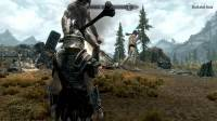 Skyrim - увеличенные гиганты и мамонты